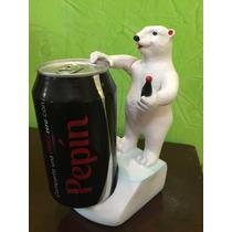 Porta Latas De Oso De Coca Cola Coleccionable