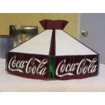 Lampara Vidrio Emplomado Coca Cola