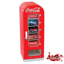 Refrigerador Dispensador De Coca Cola Retro Hasta 10 Latas