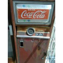 Refrigerador De Coca Cola Antiguo De Coleccion