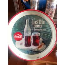 Antigua Charola De Coca Cola. Año 1961