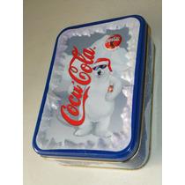 Caja Metálica Navidad 1998 Oso Coca Cola Coleccionable