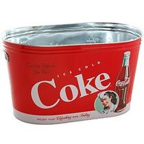 Hielera De Metal Estilo Coca Cola Refrescos Bebidas Pm0
