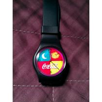 Reloj De Pulsera Coca-cola Figura Sol Y Luna