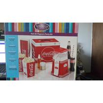 Maquina De Palomitas Coca Cola Kit