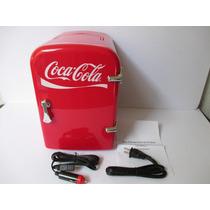 Coca Cola Mini Refrigerador Enfria Y Calienta
