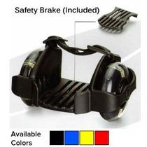 Flashing Rollers Con Frenos De Seguridad + Bolsa / Heelys /