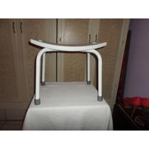 Silla Para Baño Segura Antiderrapante Usada 51x31x40x75