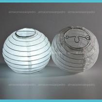 Lamparas Chinas Incluye Luz Led (paquete Con 10pzas)