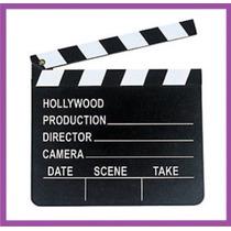 Tabla De Camara Y Accion Para Fiestas Hollywood Tematicas