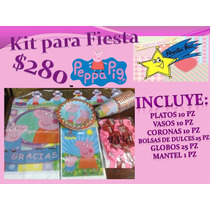 Peppa Pig Kit De Fiesta