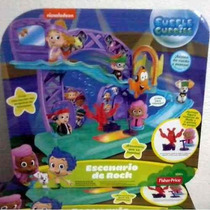 Bubble Guppies Esenario De Rock Fisher Price Mattel