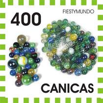 400 Canicas Fiesta Piñata Premios Juguete Regalo Bautizo