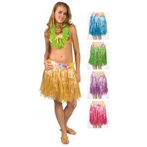 Falda Hawaiana Corta Varios Colores