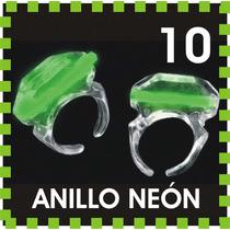 10 Anillos Luminosos Con Luz Neón Cyalume Boda Dj Xv Fiesta