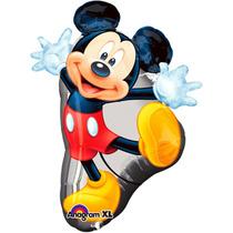 2 Globos Metálicos Jumbo 28 Pulgadas Mickeye Mouse, Fiesta