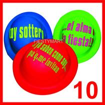 10 Sombrero Mensaje Bombin Fiesta Gorro Dj Batucada Xv Boda