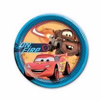 Platos Vasos Desechables Todo Fiesta Cars Disney