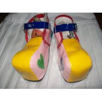 Gcg Zapatos Payasita Económicos Num. 21 Amarillos Css