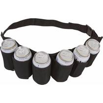 Cinturon P/ Latas De Cerveza O Soda Ez Drinker Para 6 Latas