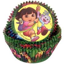 Dora La Exploradora Fiesta Decoracion Pastelitos Capacillos