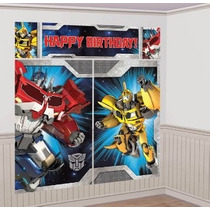 Poster De Transformers Decoracion Fiestas Recamaras