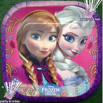 Todo Para Tu Fiesta De Frozen. Platos, Vasos Y Más.