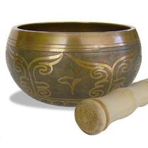 Tazón O Cuenco Tibetano En 7 Metales - Importado - 10 Cms