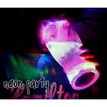 Vaso Luminoso Led Luz Multicolor Fiesta Eventos Neon Antro