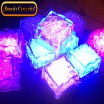 12 Cubos De Hielo Luminosos De Máxima Calidad.