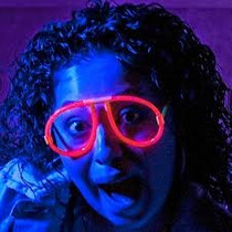 Lentes,gafas Neón Boda,15 Años,evento,fiesta,hielos Led Hm4