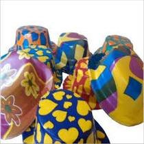 12 Sombreros Bombin,hielos Led,pulseras,bodas,fiestas Vv4