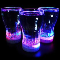 Vaso Luminoso Multicolor Coca Cola Led Tipo Ruleta 320 Ml