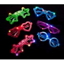 10 Lentes Luminoso Led Multicolor Figuras Y Colores Surtidos