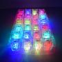 12 Hielos Luminosos Led Sumergibles Multicolor Sensor Liquid