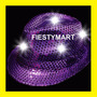 Sombrero Luminoso Led Fedora Fiesta Con Luz Boda Dj Xv Gorro