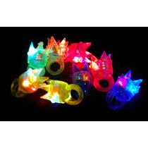 10 Anillos Luminosos Led Goma Elastica ¡de Super Descuento!