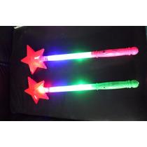 Varita Estrella Luminosa Para Fiestas Eventos Regalo 10 Pzas