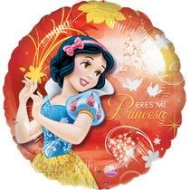 Globo Blanca Nieves Disney Paq. 6 Pzas18 Pulgadas Helio