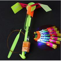 50 Flechas Luminosa Led Flyer Juguete Fiesta Helicoptero