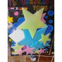 5 Paquetes De Figuras Fosforecentes Fluorecentes