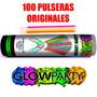 Pulseras Neon De Cyalum Glow In The Dark Glowparty® American