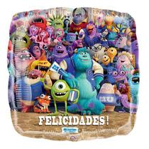 Globo Monster University Paq 10 Pzas 9 Pulgadas Centro Mesa