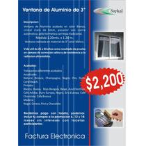 Ventana De Aluminio Blanco 3