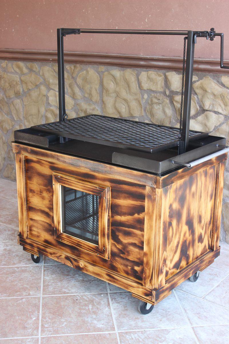 Ataud para asar carne asador tipo ataud caja china for Asadores de jardin fotos