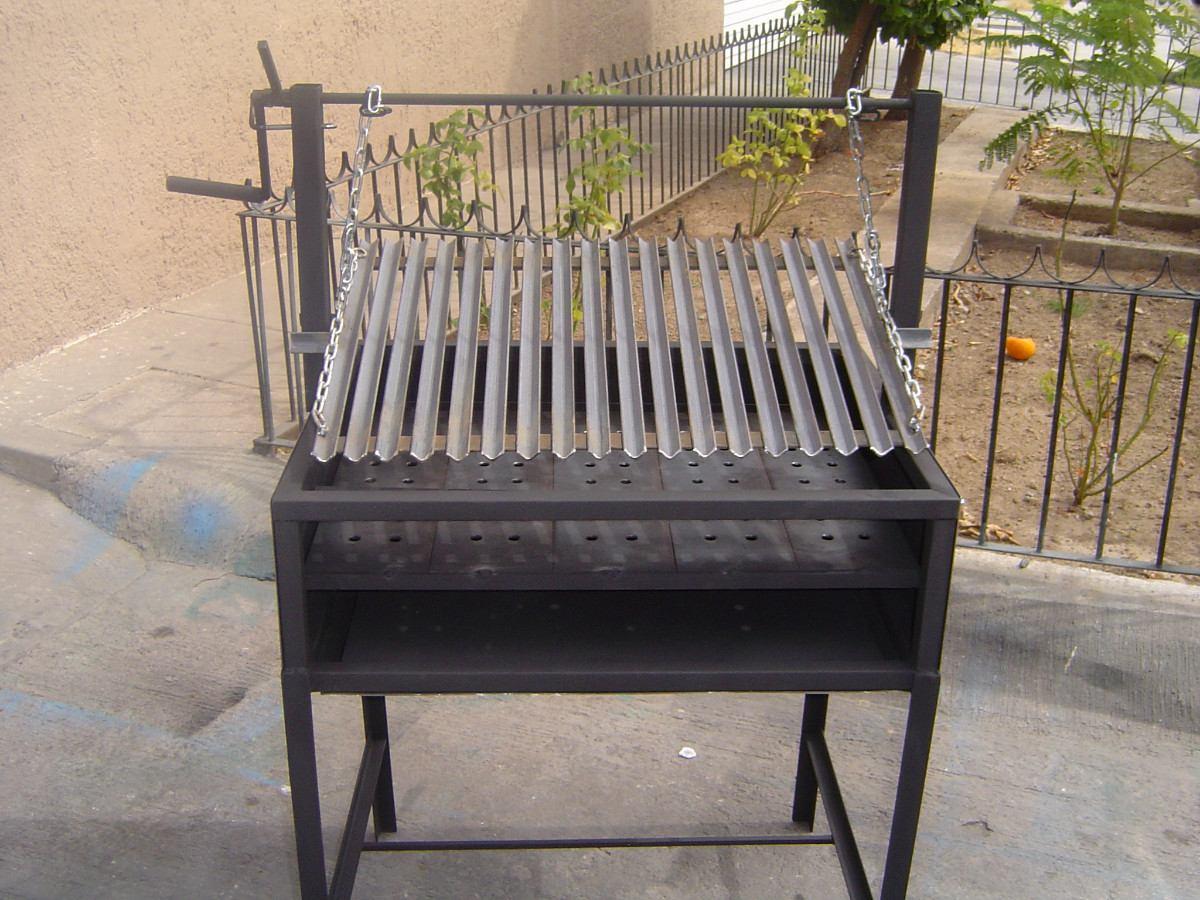 Asadores de carne argentino sencillo 2 en for Asadores para carne jardin