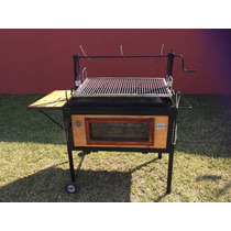 Asador Ataud Jumbo Plus Inoxidable