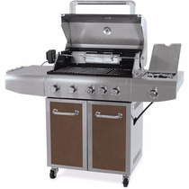 Asador Parrilla De Gas 5 Quemadores Better Homes Lp Natural