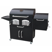 Parrilla Asador Al Carbon Smoky Mountain Con Ahumador