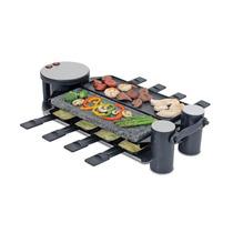Parrilla De Piedra Electrica Para Cocinar 8 Porciones Hm4
